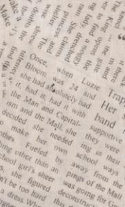 Newsprint copy